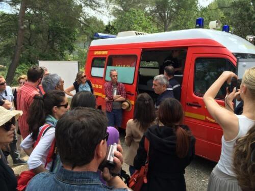 AIx-en-Provence, France, Fire Conference June 2016
