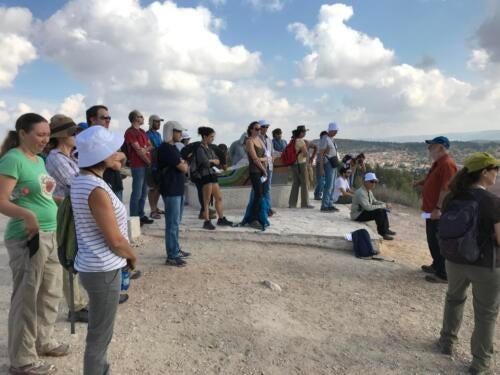 MedPine conference field trip, near Jerusalem, Israel, 2018