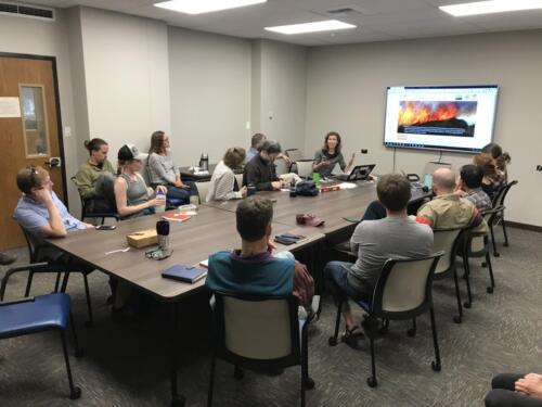 Safford lab meeting