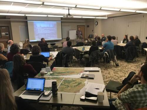 USGS Veg type conversion workshop. Sacramento, 2020
